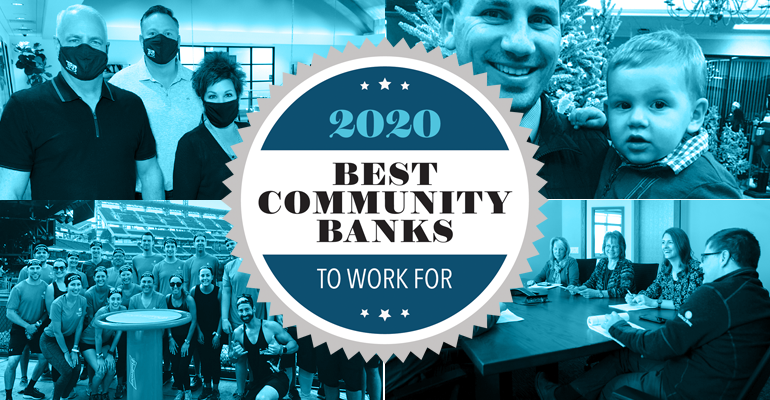 2020 Best Community Banks to Work For
